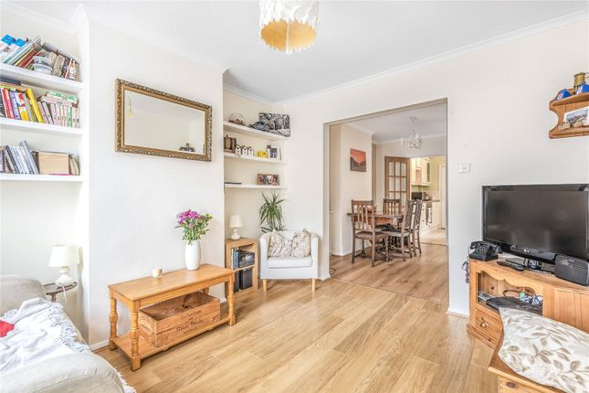 Thumbnail End terrace house for sale in Victoria Road, Addlestone, Surrey