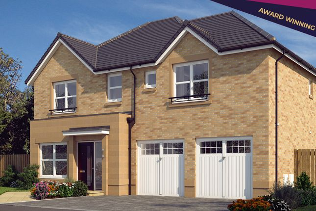 """Thumbnail Detached house for sale in """"The Westbury"""" at Cochrina Place, Rosewell"""