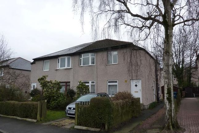 Thumbnail Flat to rent in Ashcroft Drive, Croftfoot, Glasgow