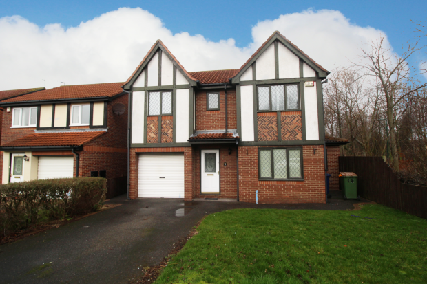 Thumbnail Detached house for sale in Hundale Crescent, Redcar, Cleveland