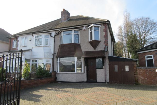 Thumbnail Semi-detached house for sale in Bromford Lane, Ward End, Birmingham, West Midlands