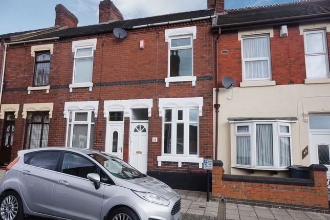 Thumbnail Terraced house to rent in Seymour Street, Hanley, Stoke-On-Trent