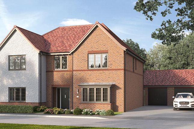 "Thumbnail Detached house for sale in ""The Ottringham"" at Steeplechase Way, Market Harborough"
