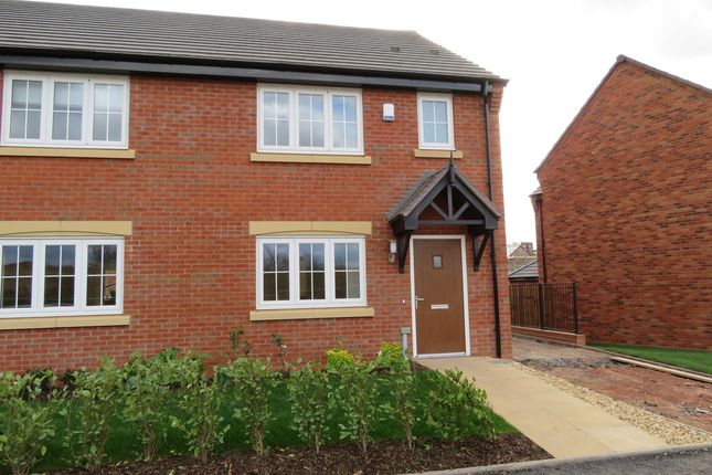 Thumbnail Semi-detached house to rent in Oak Way, Streethay, Lichfield