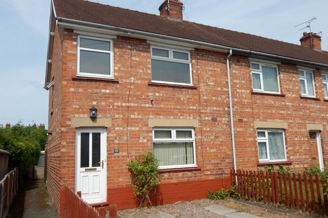Thumbnail End terrace house to rent in Prince Edward Street, Nantwich