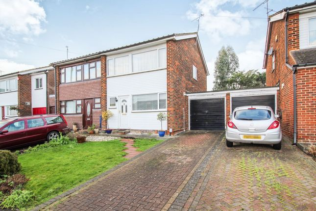 Thumbnail Semi-detached house for sale in Warren Field, Epping