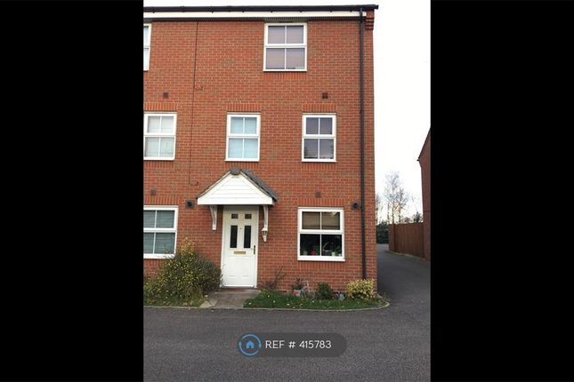 Thumbnail End terrace house to rent in Hillmorton Road, Rugby