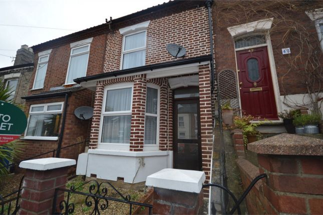 Thumbnail Terraced house for sale in Churchill Road, Norwich