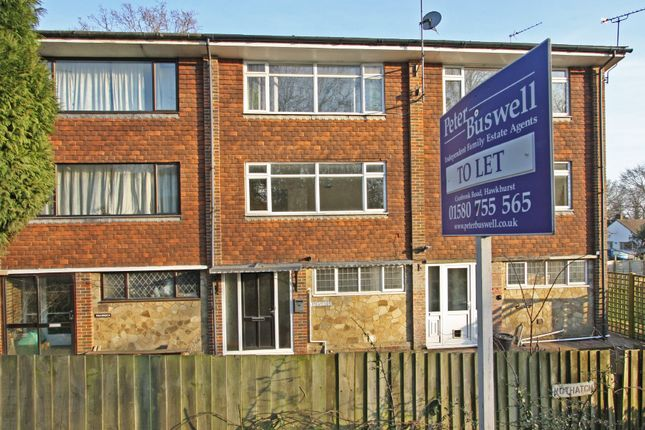 Thumbnail Flat to rent in Highgate Hill, Hawkhurst, Cranbrook