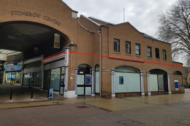 Thumbnail Retail premises to let in Unit 13, The Stonebow Centre, Silver Street, Lincoln