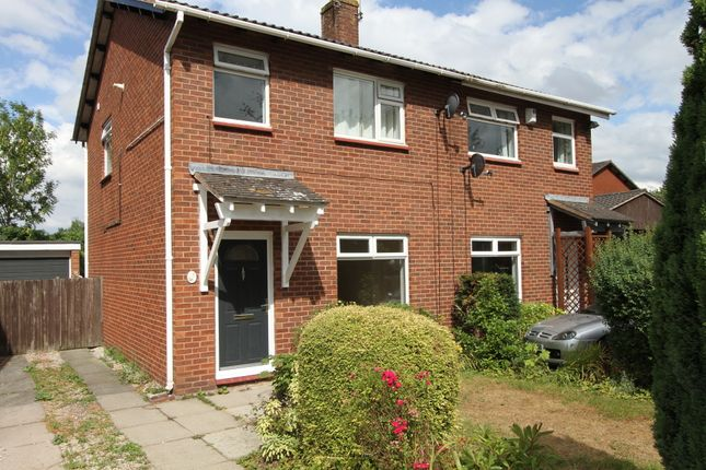 Thumbnail Semi-detached house to rent in Wells Close, Chester, Cheshire
