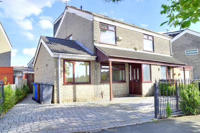 Thumbnail Semi-detached house for sale in Stour Road, Tyldesley, Manchester, Greater Manchester