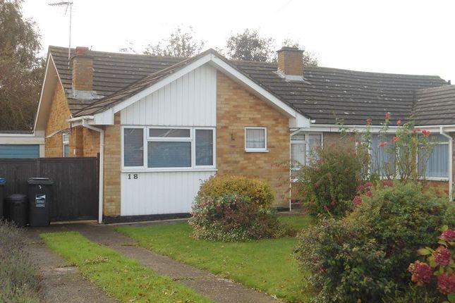 Thumbnail Semi-detached bungalow to rent in Seamark Close, Monkton, Ramsgate