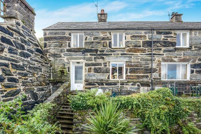 Thumbnail Semi-detached house for sale in Porthmadog, Gwynedd