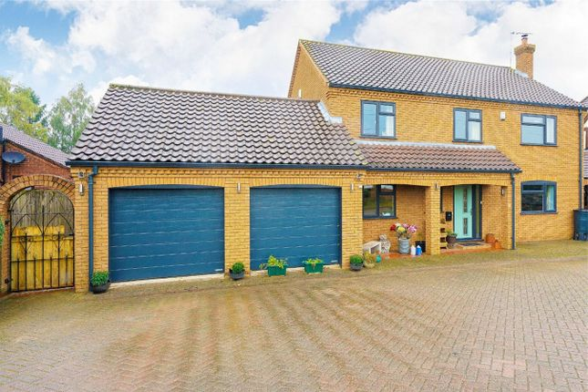 Thumbnail Detached house for sale in Hubbards Drove, Hilgay, Downham Market