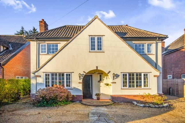 Thumbnail Detached house for sale in Norwich, Norfolk