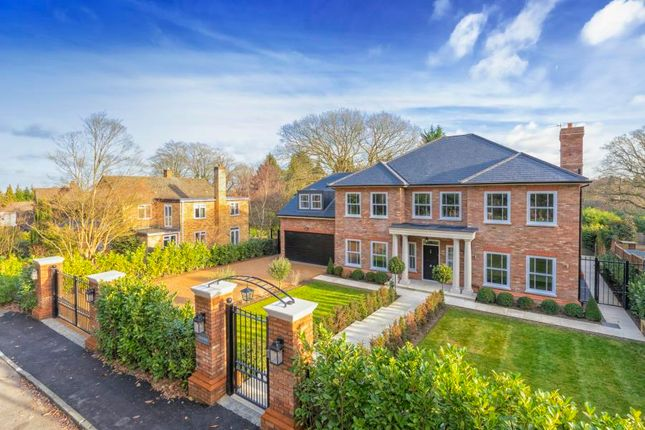 Thumbnail Detached house for sale in Knowle Grove Close, Virginia Water