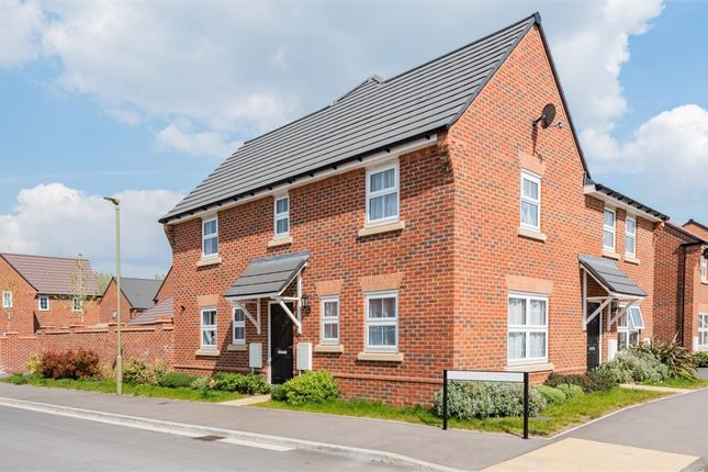 Thumbnail Semi-detached house for sale in Massey Road, Grove, Wantage, Oxfordshire