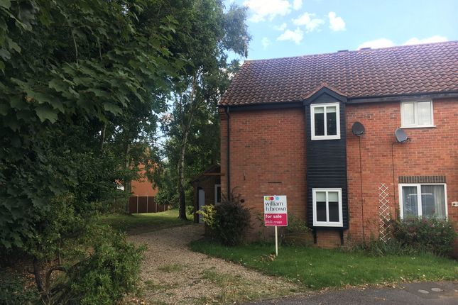Thumbnail End terrace house for sale in Courtnell Place, King's Lynn