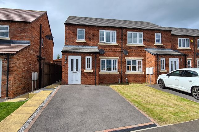 Thumbnail Semi-detached house for sale in Askrigg Close, Consett