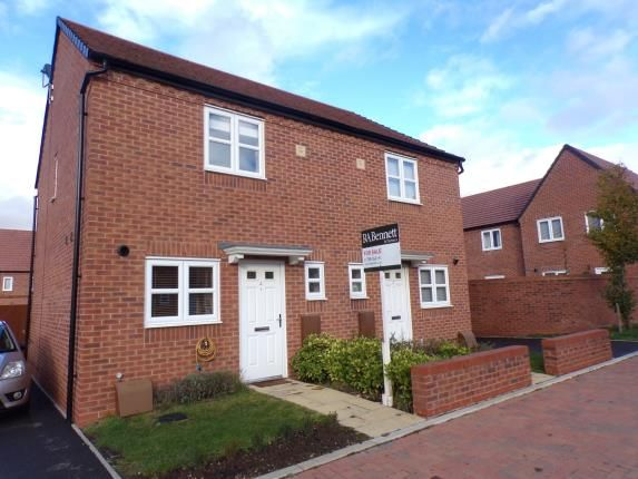 Thumbnail Semi-detached house for sale in Ravelin Close, Meon Vale, Stratford-Upon-Avon