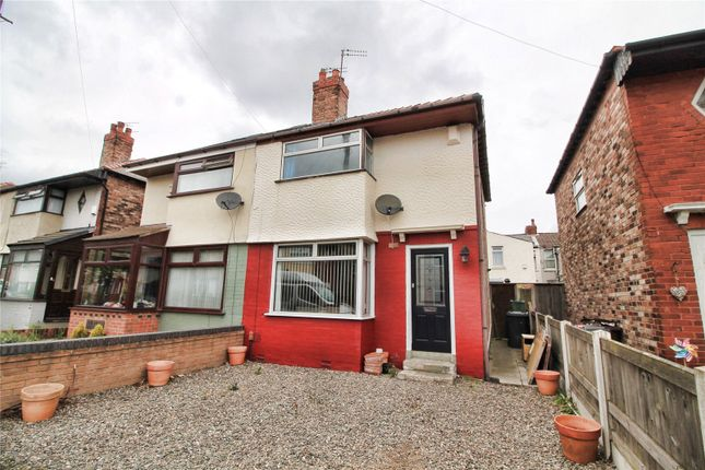 Thumbnail Semi-detached house for sale in Parker Avenue, Litherland