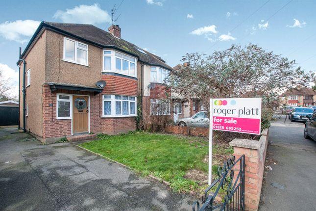 3 bed semi-detached house for sale in Westlands Avenue, Burnham, Slough
