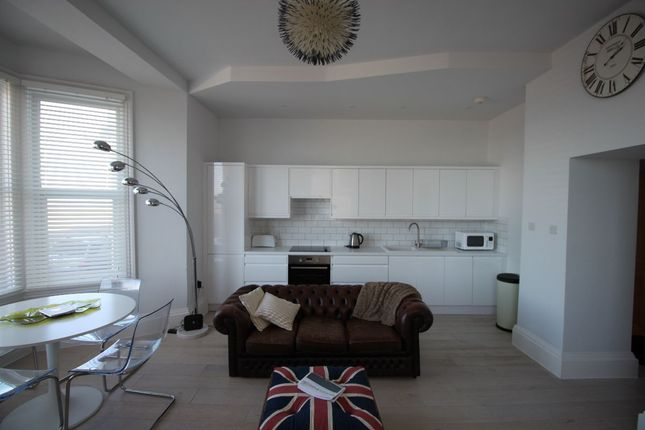 Thumbnail Flat to rent in Ethelbert Crescent, Cliftonville, Margate