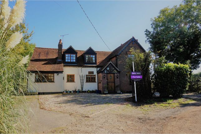 Thumbnail Detached house for sale in School Lane, Beauchamp Roding