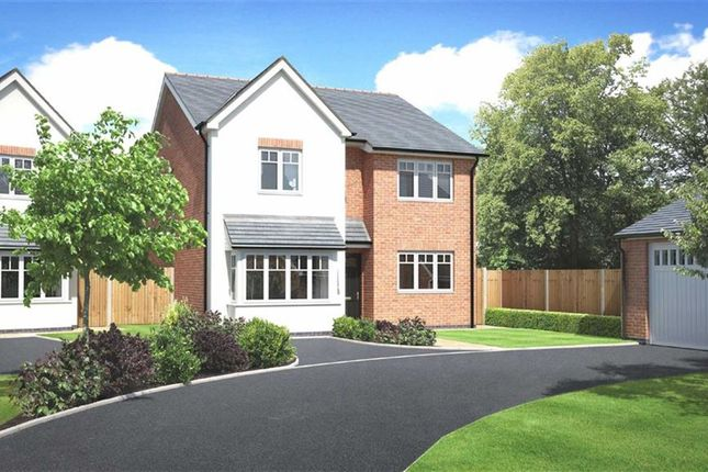 Thumbnail Detached house for sale in Plot 4, Weavers Rise, Upper Chirk Bank, Oswestry, Shropshire