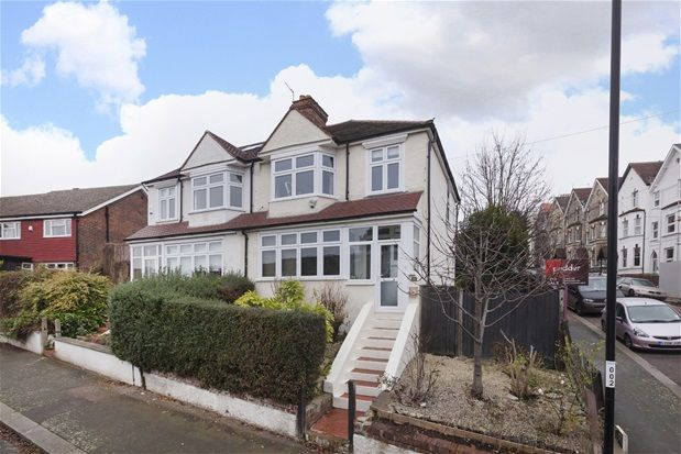 Thumbnail Semi-detached house for sale in Troy Road, London