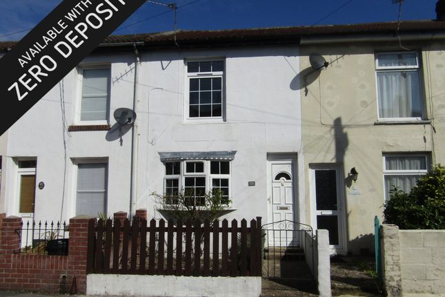 Thumbnail Terraced house to rent in Brougham Street, Gosport