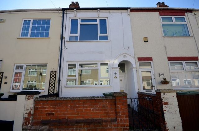 Thumbnail Terraced house to rent in Montague Street, Cleethorpes