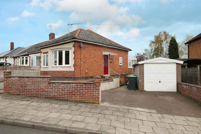 Thumbnail Bungalow for sale in Rockwood Crescent, Hucknall, Nottingham