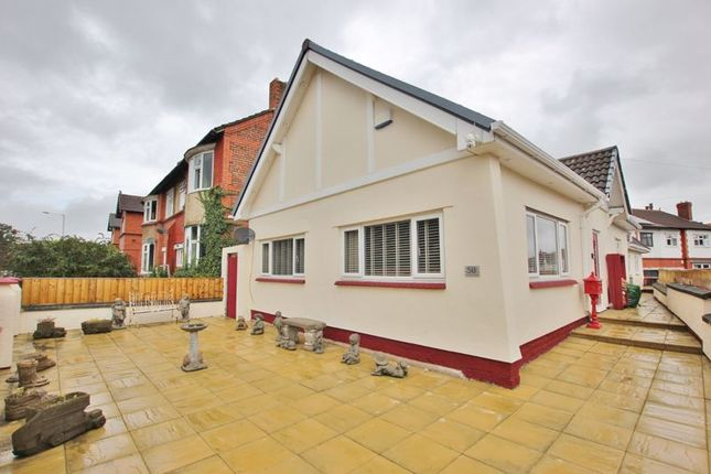 Thumbnail Detached bungalow for sale in Tollemache Road, Claughton, Wirral