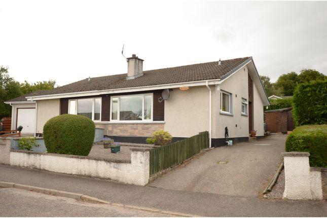 Thumbnail Semi-detached bungalow for sale in Stuarthill Drive, Dingwall