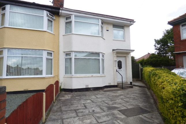 Thumbnail Semi-detached house for sale in Wills Avenue, Maghull, Liverpool