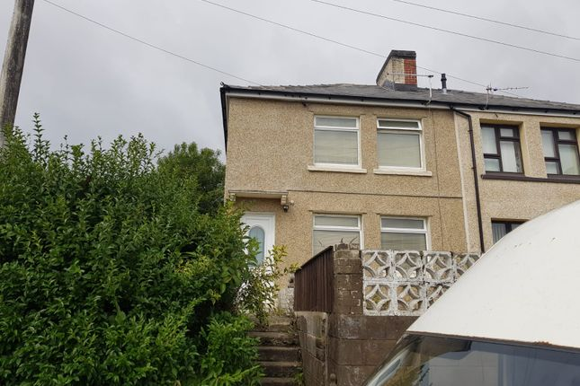 Thumbnail Semi-detached house for sale in Orchard Street, Phillipstown, New Tredegar
