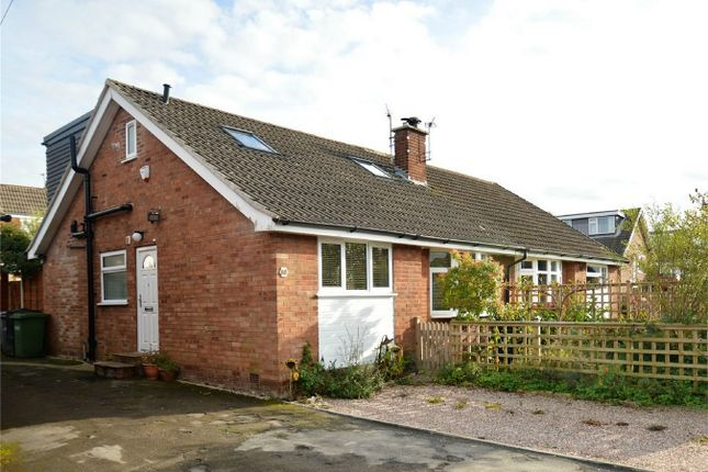 Thumbnail Semi-detached bungalow for sale in Cedarway, Bollington, Macclesfield, Cheshire