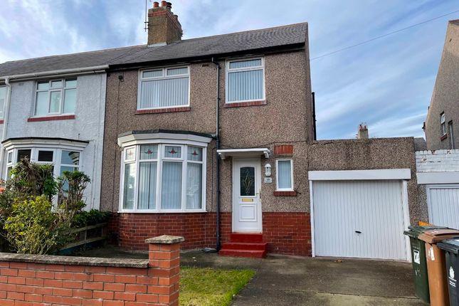 3 bed semi-detached house to rent in Hermiston, Monkseaton, Whitley Bay NE25