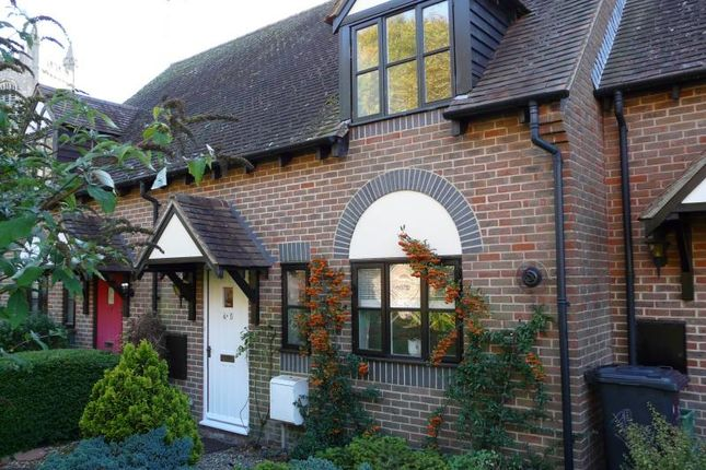 Thumbnail Terraced house for sale in St. Michaels Close, Lambourn, Hungerford