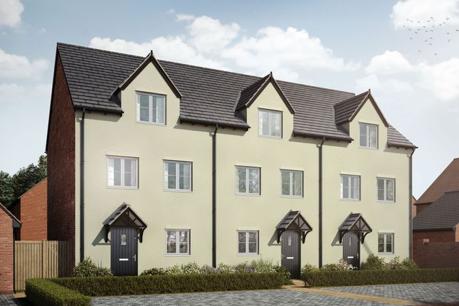 """Thumbnail Terraced house for sale in """"The Stowe"""" at St. James Way, Biddenham, Bedford"""