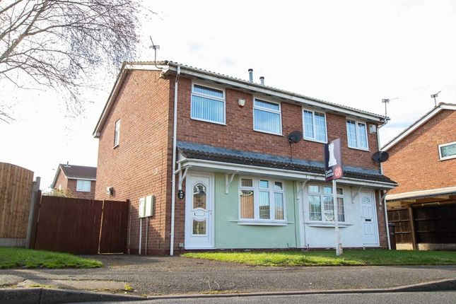 Thumbnail Semi-detached house to rent in Lancaster Way, Strelley, Nottingham