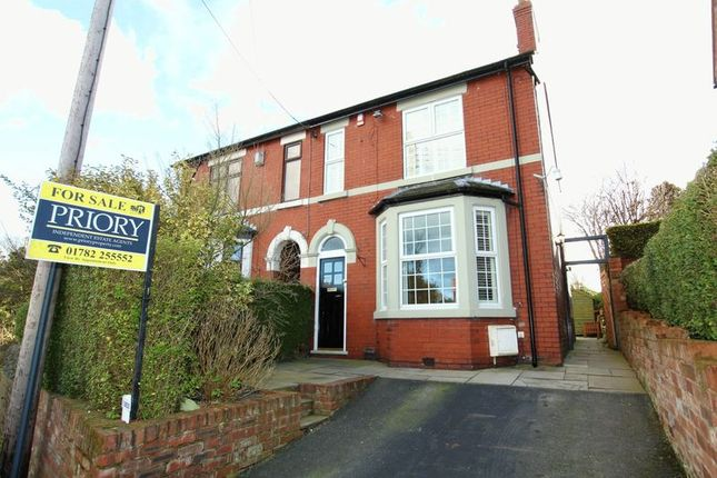Thumbnail Semi-detached house for sale in Bull Lane, Brindley Ford, Stoke-On-Trent