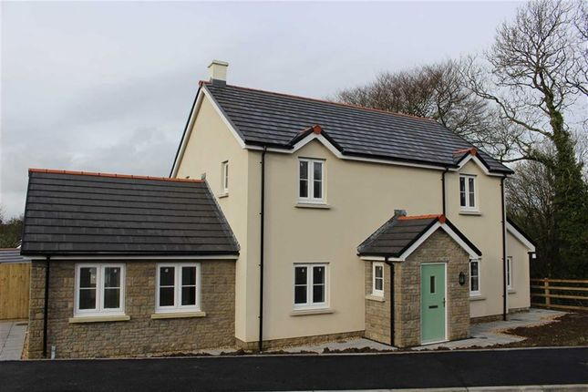 Thumbnail Detached house for sale in Plot 13, Green Meadows Park, Narbeth Road, Tenby