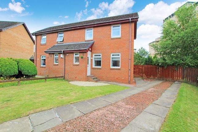 Thumbnail Semi-detached house for sale in Reid Grove, Motherwell