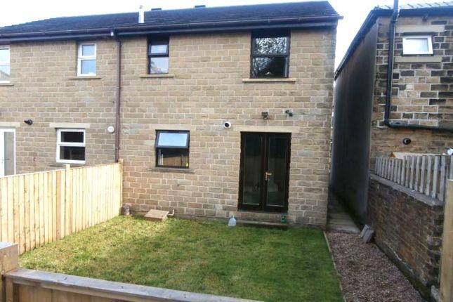 Thumbnail Semi-detached house for sale in Royd Street, Slaithwaite, Huddersfield