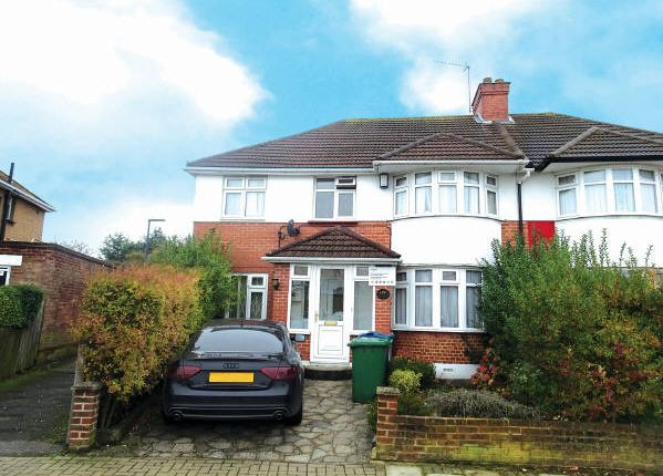 Thumbnail Semi-detached house for sale in Twyford Road, Harrow