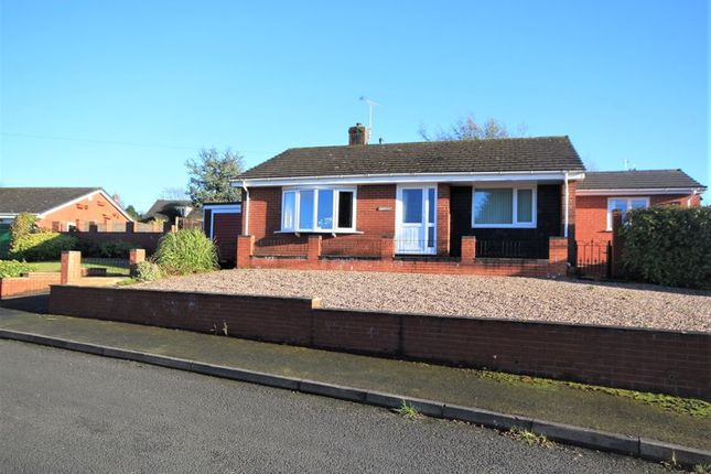 Thumbnail Bungalow for sale in Church Meadows, Alport Road, Whitchurch