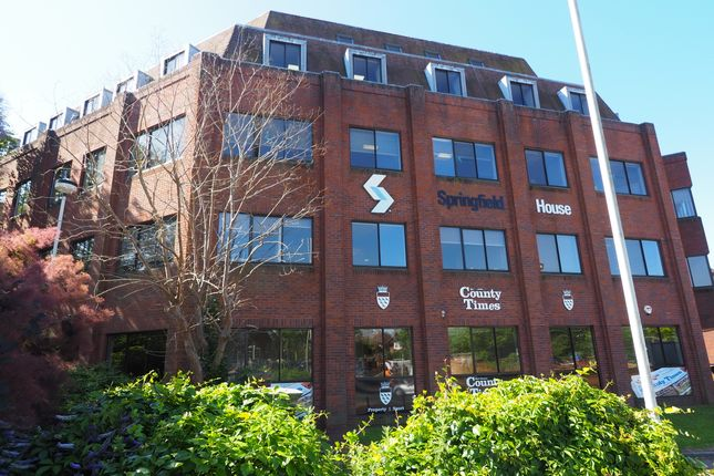 Thumbnail Office to let in 4th Floor, Springfield House, Springfield Road, Horsham